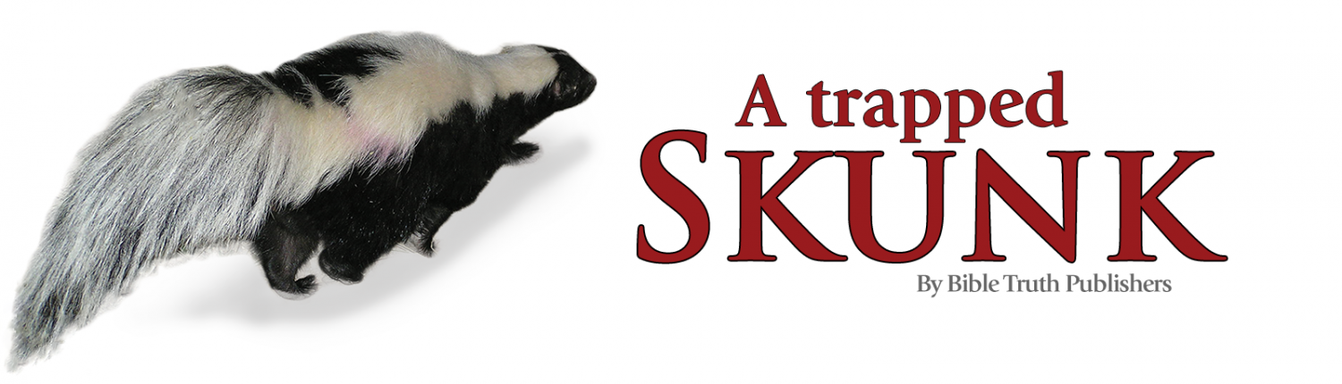 A Trapped Skunk