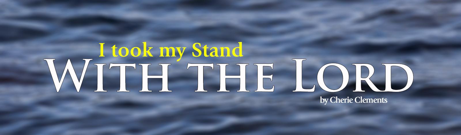I took my Stand